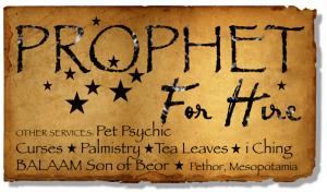 prophet for hire
